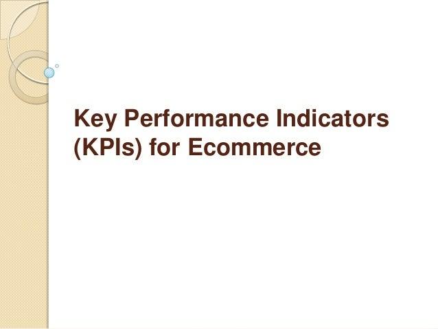 Key Performance Indicators (KPIs) for Ecommerce