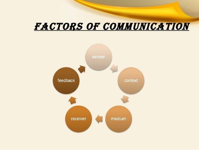 factors that influence communication in an organization