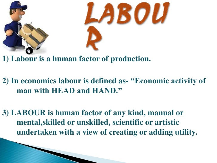 Factors of production