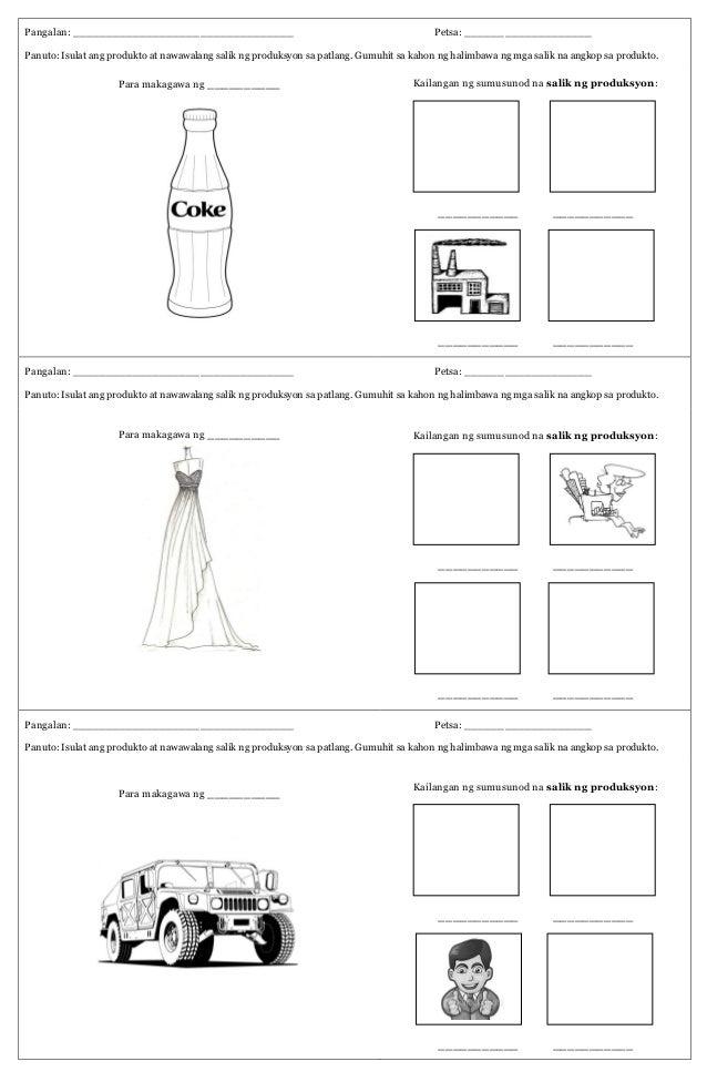factors of production worksheet. Black Bedroom Furniture Sets. Home Design Ideas