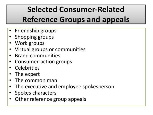 Using Reference Groups in Marketing - Business 2 Community