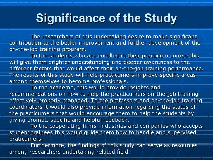 local studies in thesis about study habits Measures of study behaviors, also called study skills, strategies,  similarly,  although large meta-analytical studies (crede & kuncel, 2008.