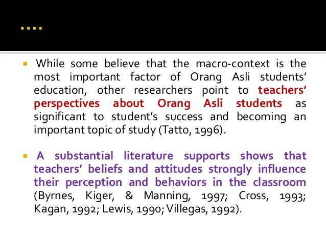 Foreign literature about factors affect student behavior in school