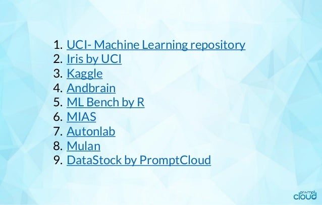 Factors that make a great Machine Learning training data set