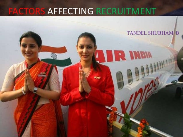FACTORS AFFECTING RECRUITMENT                       TANDEL SHUBHAM B