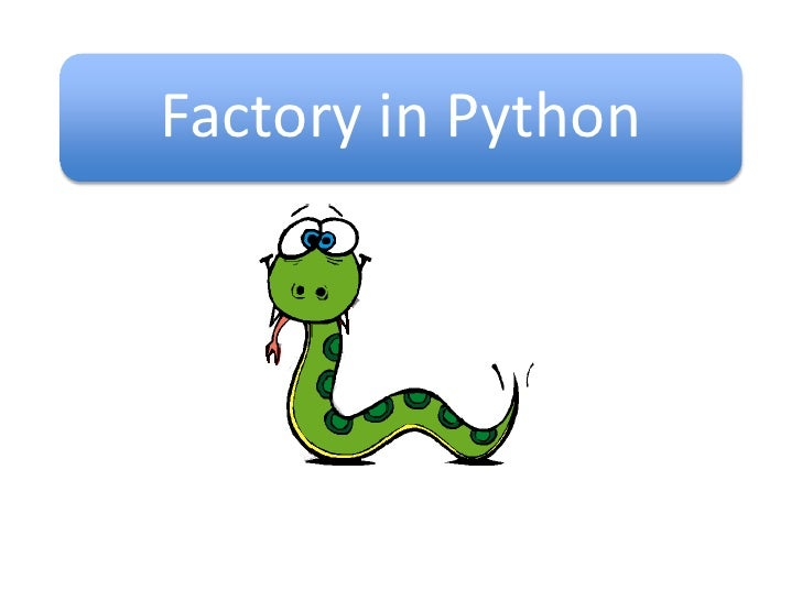 Factory in Python