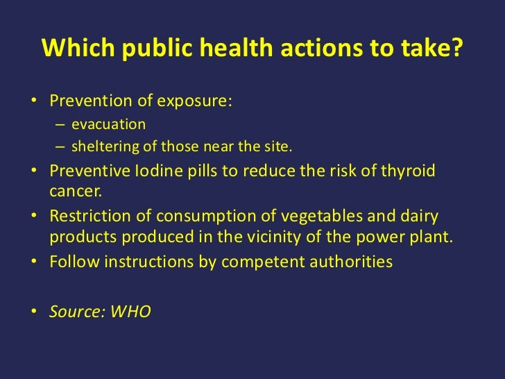 health impact of nuclear accident Process industry forum have gathered information about the top 10 nuclear disasters health effects of chronic exposure to and when nuclear accidents.