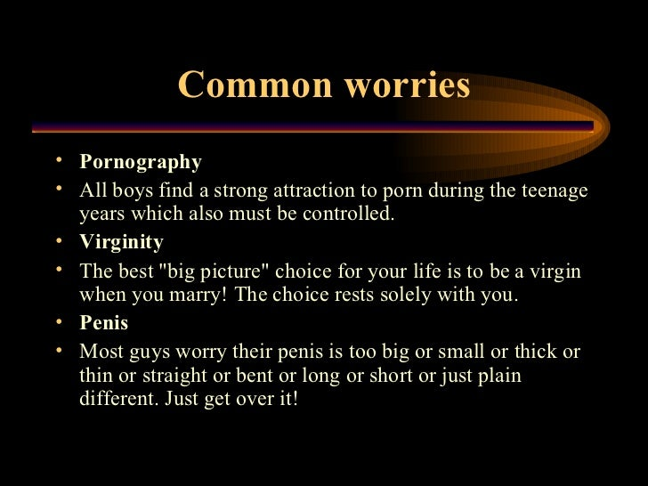 Sex facts about guys