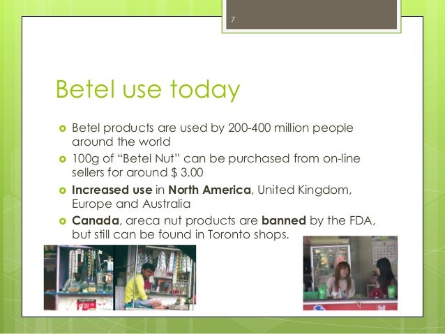 Facts about the Dangers of Betel Nut Chewing