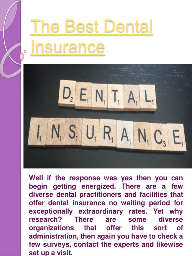 Facts About Dental Insurance