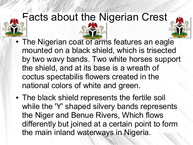 nigeria coat of arms meaning