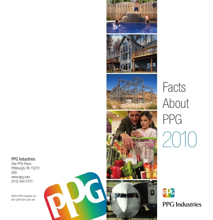 Facts about PPG Industries