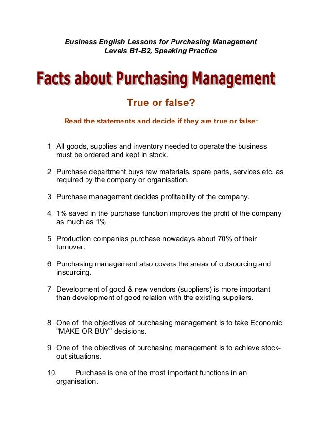 functions of purchasing department in an organization