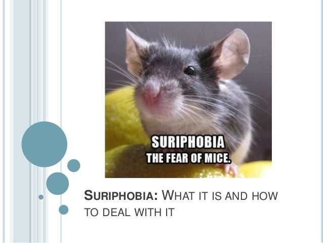 SURIPHOBIA: WHAT IT IS AND HOWTO DEAL WITH IT