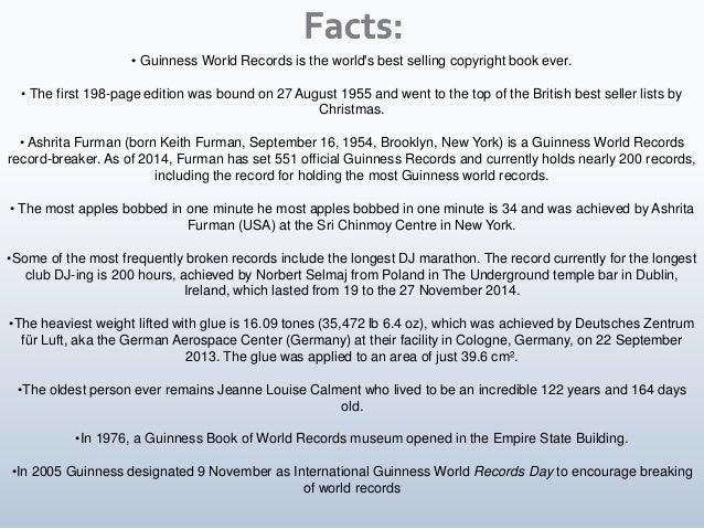 Facts, Figures & Statistics