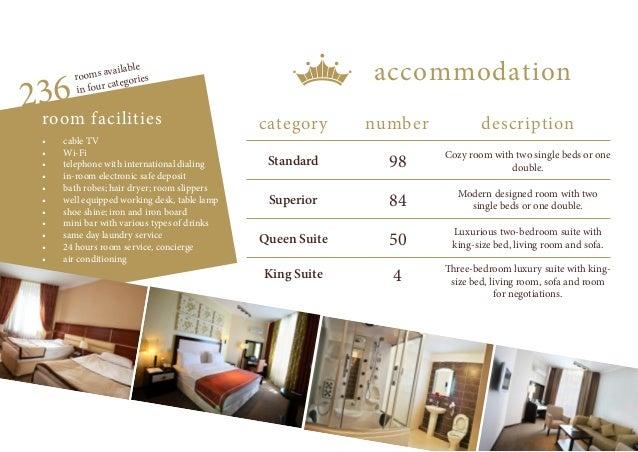 Hotel Kazakhstan Fact Sheet Slide 2