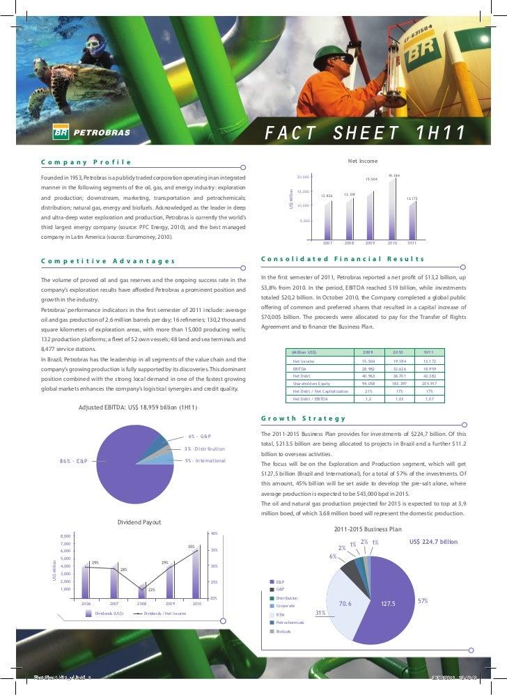 FACT SHEET 1H11  Company                            Profile                                                               ...