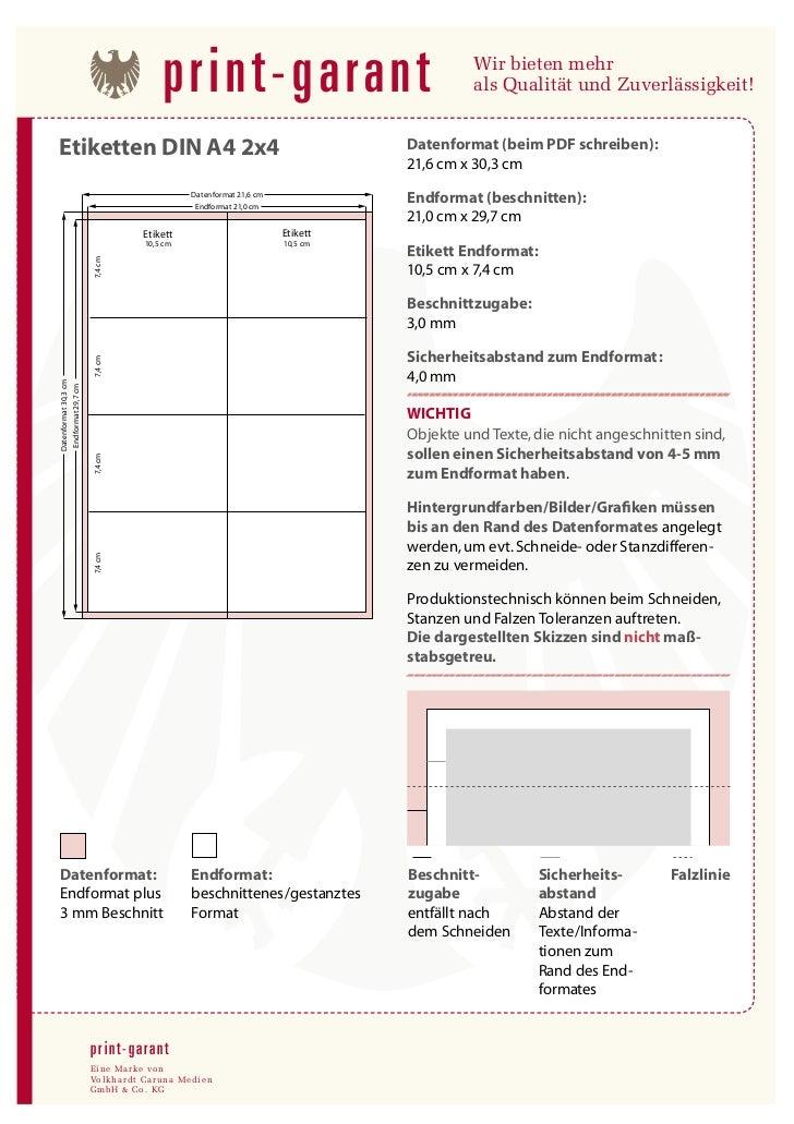 Etiketten drucken: Vorlage und Daten erstellen