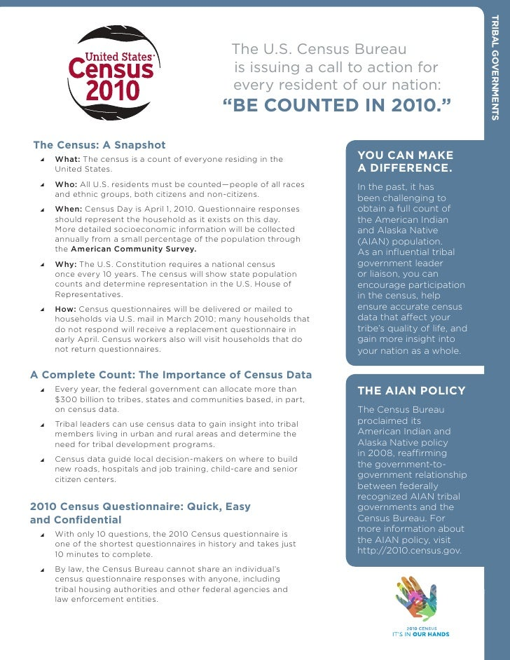 TrIbAL gOvErNmENTs                                                   The U.S. Census Bureau                               ...