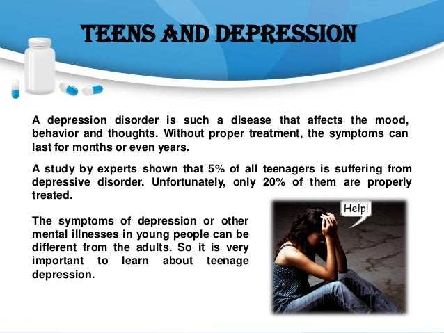 teenage depression symptoms and its treatment, Skeleton