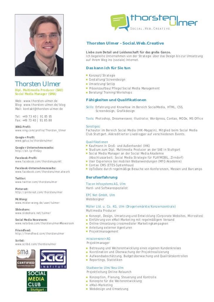 Social.Web.Creative                                          Thorsten Ulmer - Social.Web.Creative                         ...