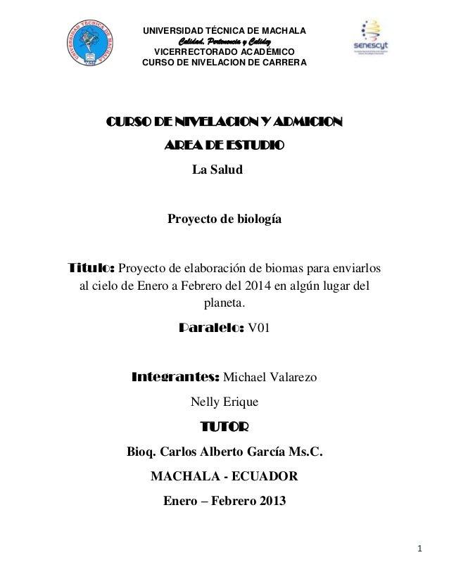 UNIVERSIDAD TÉCNICA DE MACHALA Calidad, Pertenencia y Calidez VICERRECTORADO ACADÉMICO CURSO DE NIVELACION DE CARRERA  CUR...