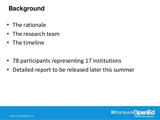 Faculty attitudes towards and experiences with OER & Open Textbooks Slide 2