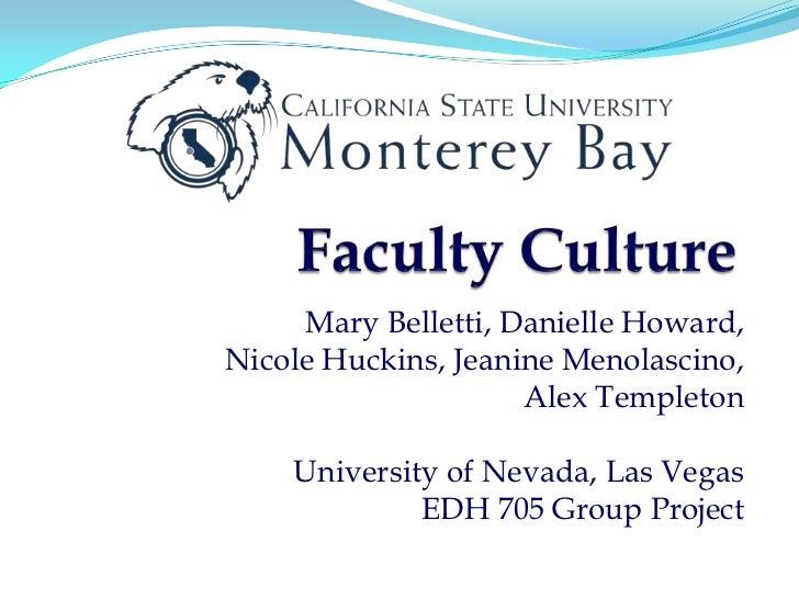 Mary Belletti, Danielle Howard,Nicole Huckins, Jeanine Menolascino,                     Alex Templeton    University of Ne...