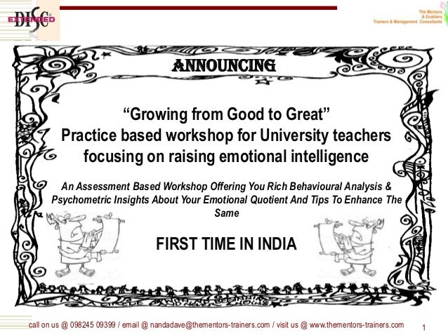 "call on us @ 098245 09399 / email @ nandadave@thementors-trainers.com / visit us @ www.thementors-trainers.com 1 ""Growing ..."