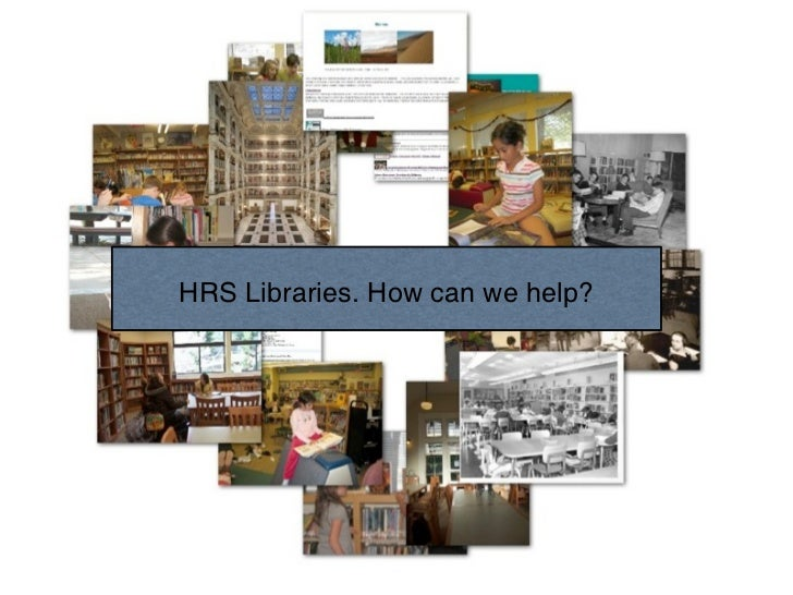 HRS Libraries. How can we help?               Text