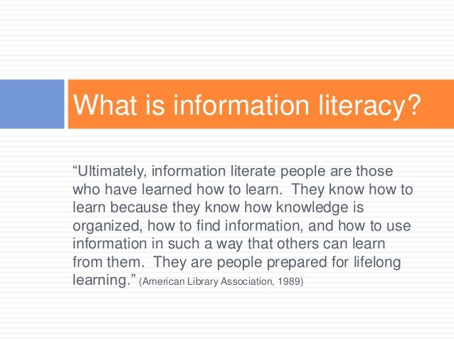 Information Literacy Instruction Ideas For Teaching College Students