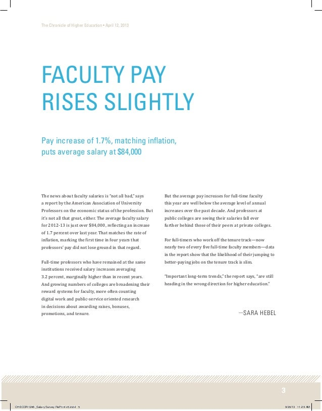 faculty salary surveys faculty salary survey 2013 chronicle of higher ed 3820