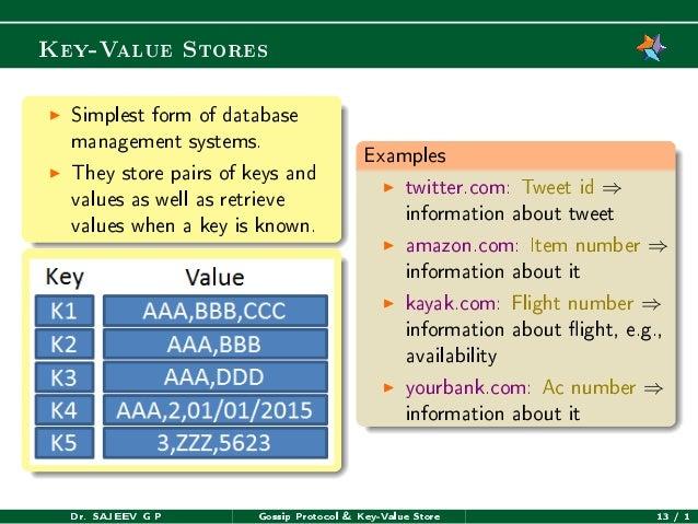 Gossip & Key Value Store