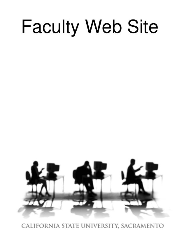 Faculty Web Site