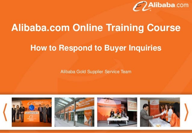 "Alibaba.comThank you for attending theCourse Good afternoon. Online Training webinar . The topic today is ""How to follow u..."