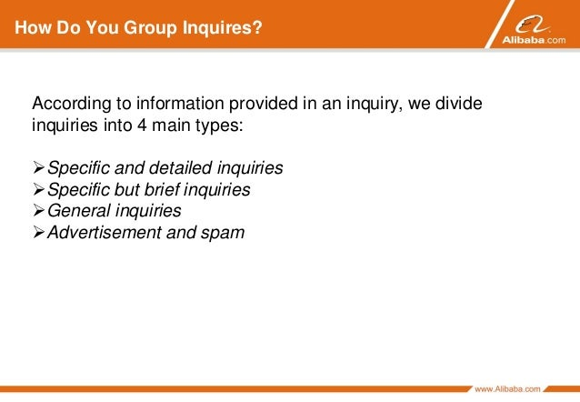 How to Respond to Buyer Inquiries Alibaba