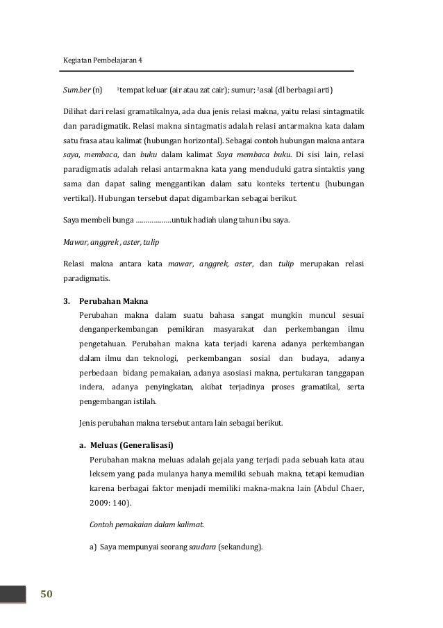 Kk A Sd Tinggi Kajian Materi Bahasa Dan Sastra Indonesia