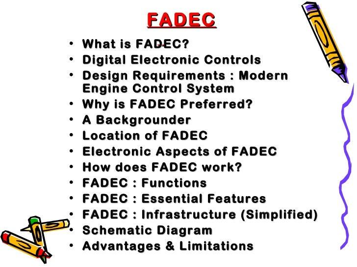 Fadec Full Authority Digital Engine Control