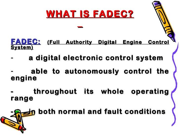 Fadec  full authority digital engine control-final Slide 3