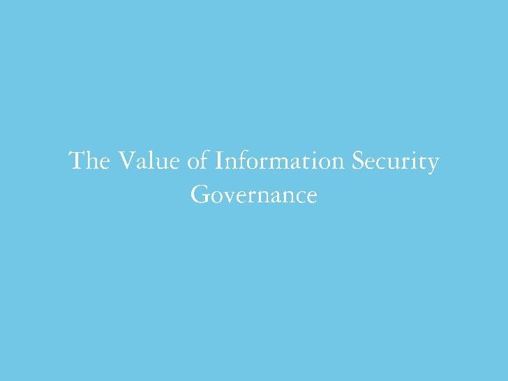 Fadi Mutlak - Information security governance