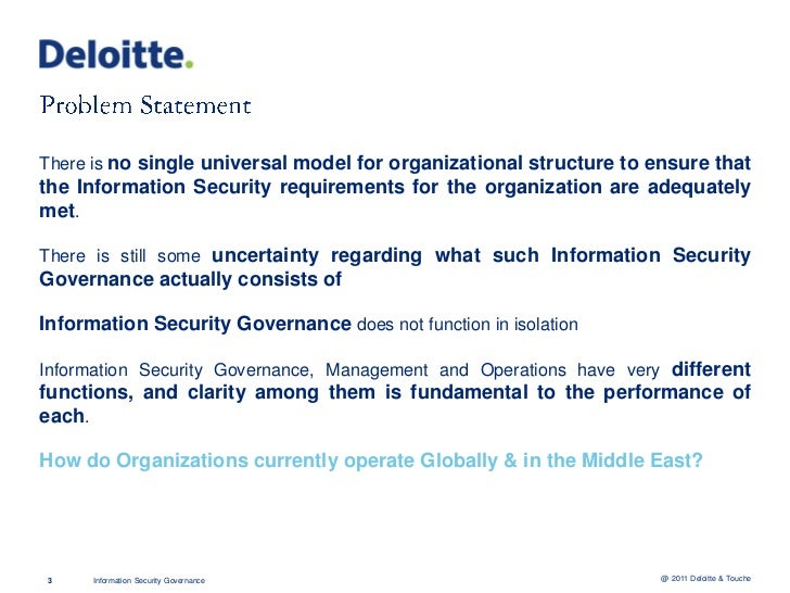 17% of Organizations Globally have a person responsible for Information Security. 33% inthe Middle East40% of the CISOs Gl...