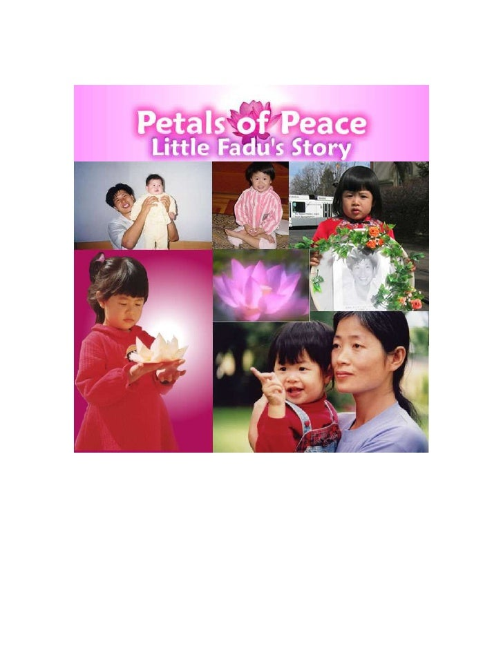 The 'Petals of Peace' project began with a little 3-year-old                 Australian girl. Here is her story:       Fou...