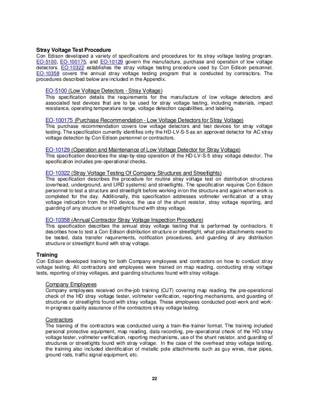 2008 Testing and Inspection Programs Final