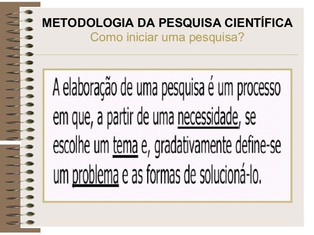 FAEME METODOLOGIA CIENTÍFICA