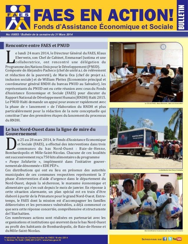 elundi24mars2014,leDirecteurGénéralduFAES,Klaus LEberwein,sonChefdeCabinet,EmmanuelJustimaetune collab...