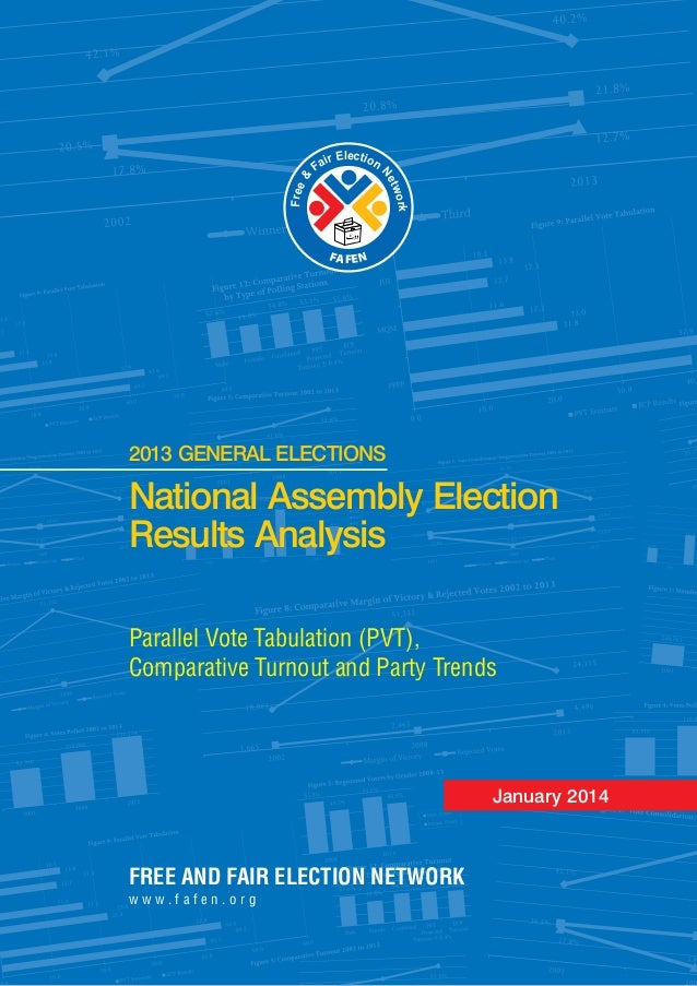 FREE AND FAIR ELECTION NETWORK w w w . f a f e n . o r g lecE tir oi naF Ne & tw e o er rk F FA NFE National Assembly Elec...