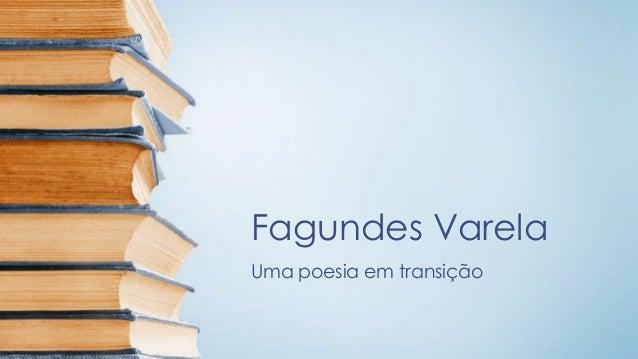 Fagundes Varela Uma poesia em transição
