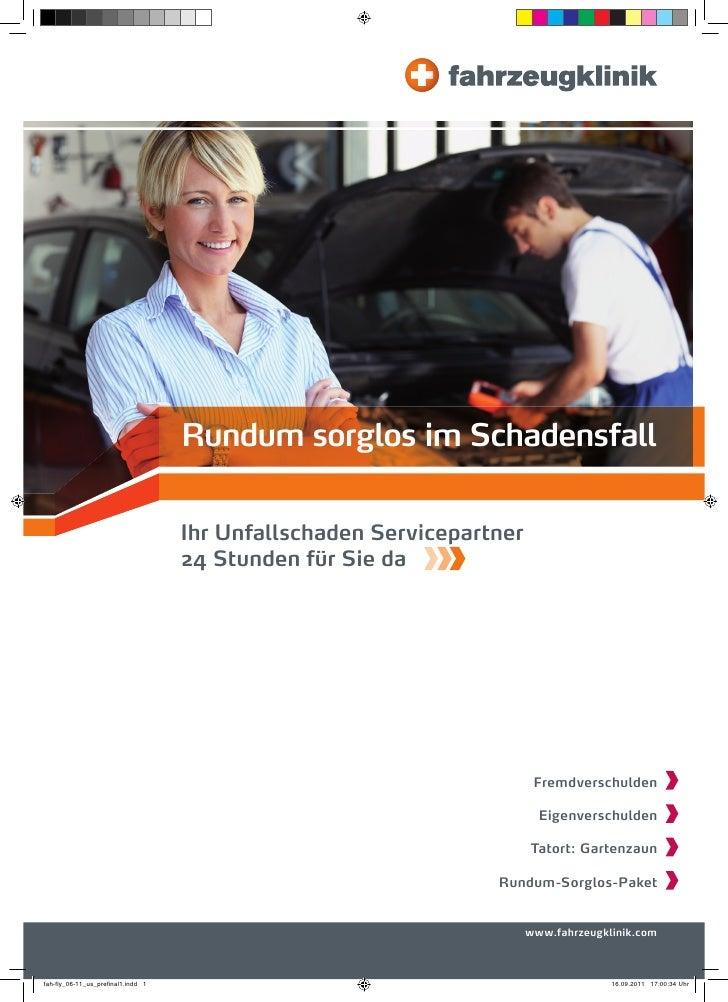 Rundum sorglos im Schadensfall                                    Ihr Unfallschaden Servicepartner                        ...