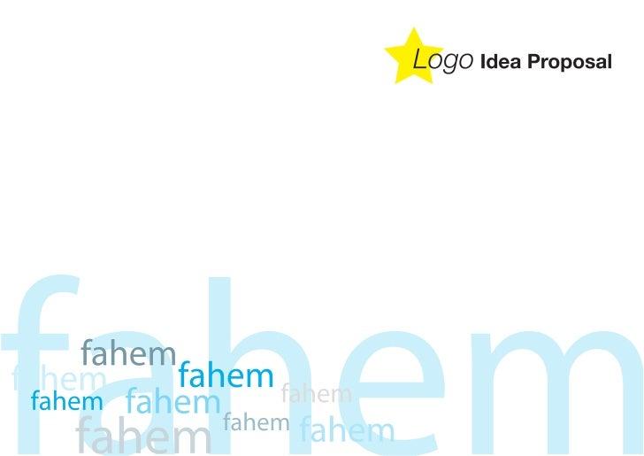 Fahem Logo Proposal