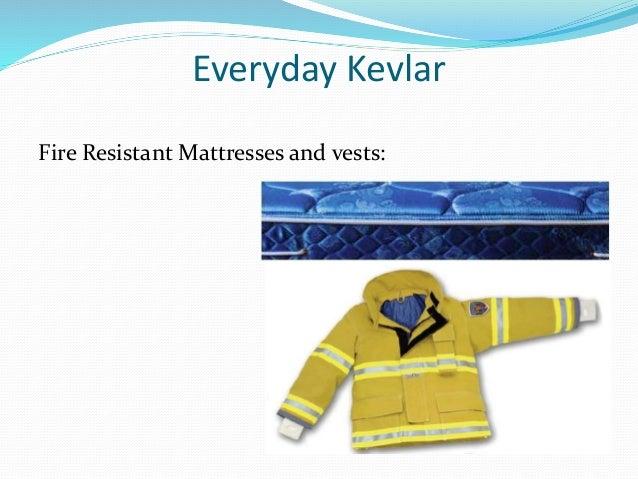 Fire Resistant Reinforcement : Kevlar